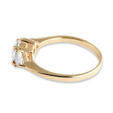 palmbeach jewelry 2 18 tcw cz 14k gold plated 3