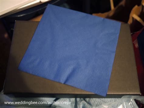 Fold Paper Napkins - paper napkin folding tutorial weddingbee