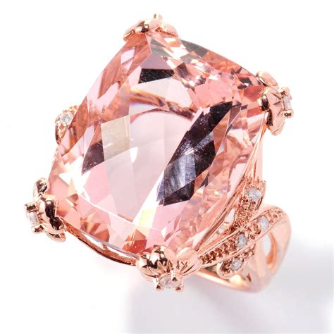 Play up your sophisticated side with Morganite Rings for your Wedding   Unique Engagement Ring