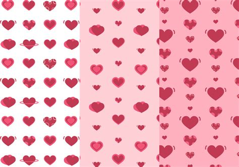 heart pattern in c free hearts pattern vector download free vector art