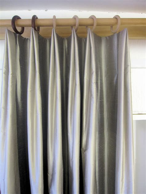 how to do drapes variation of a double pleat a curtain maker s blog