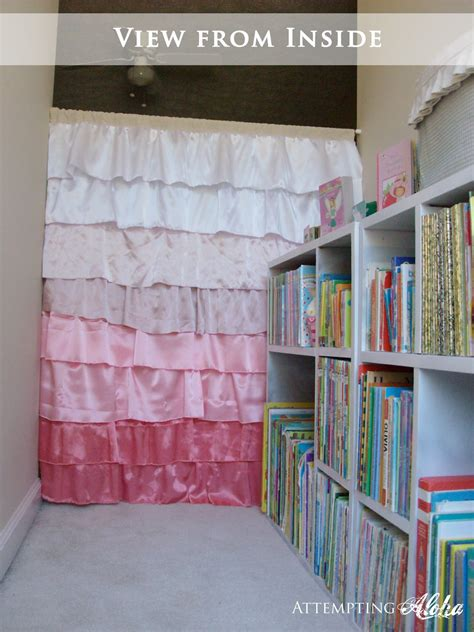 curtains for kids playroom attempting aloha playroom reading nook