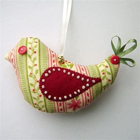 Handmade Fabric Crafts - folksy buy quot bird decoration quot craftjuice