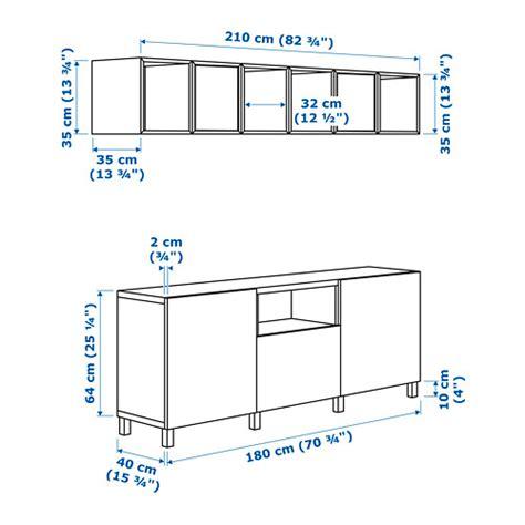 awesome best eket tv storage combination white drawer - Besta Und Eket