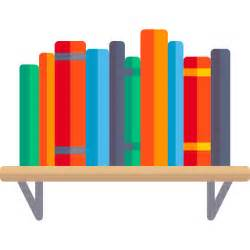 How To Style A Bookcase Bookshelf Free Education Icons