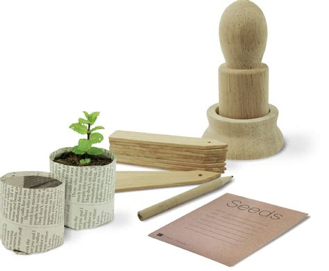Paper Plant Pots - paper plant pot maker accessory gift set