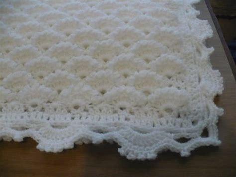 como hacer colchas para bebe mantilla manta del mar tejida crochet para bebe 380