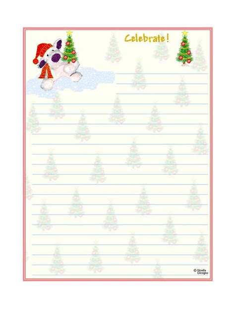 free printable lined christmas stationery paper free printable christmas stationary free printable