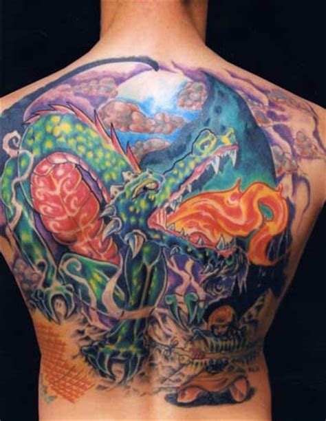 tattoo dragon fantasy dragon slayer by jason a leigh tattoonow