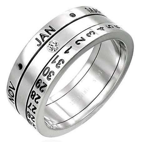 Calendar Rings Revolving Calendar Ring Not Merely A Jewelry General