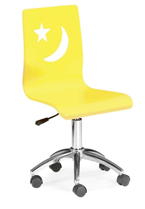 Kid Desk Chair Desk Chairs Yellow Simple Home Decoration