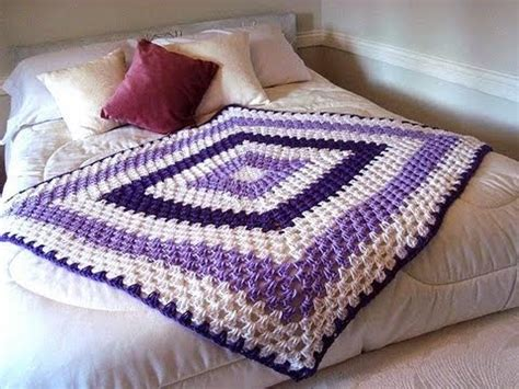Crochet Square Blankets by Square Blanket Any Size How To Diy Baby Blanket