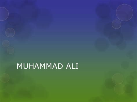 short biography muhammad saw muhammad ali short bio