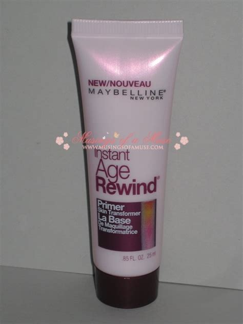 Maybelline Primer on a budget maybelline instant age rewind primer review musings of a muse