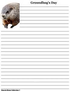 Groundhog Day Essay by Groundhog Day Writing Paper For School