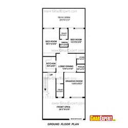 Home Design 15 By 60 House Plan For 27 Feet By 70 Feet Plot Plot Size 210
