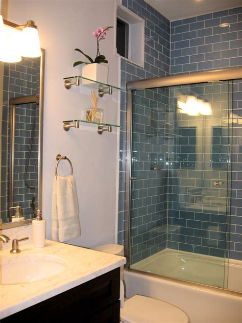 blue subway tile bathroom image from https www subwaytileoutlet com images gallery