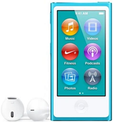 Milite Dresses Up Your Ipod Nano by Apple Ipod Nano 7th Generation 16gb Blue Price Review