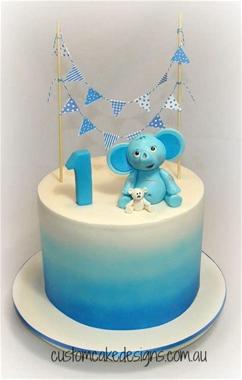 1st Birthday Cake by Elephant 1st Birthday Cake Cakecentral