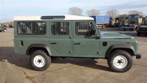 military land rover 110 land rover defender 110 station wagons rhd ex mod direct sales