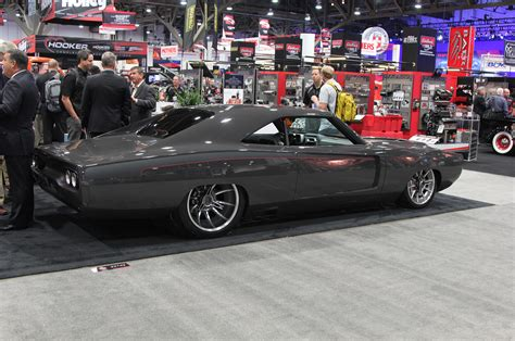the roadster shop 1968 dodge charger is a custom classic
