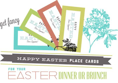 easter place card template free sissyprint easter place cards