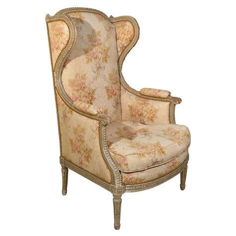 louis style armchair louis xvi style wingback armchair at 1stdibs