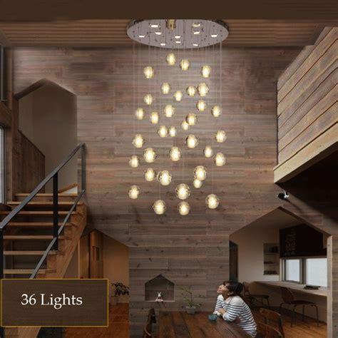 Kronleuchter Modern Glas by Aliexpress Buy 36 Lights Led Modern Clear Cast Glass