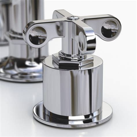 Waterworks Henry Faucet by Waterworks Henry Faucet With Cross Handles 3d Model Max