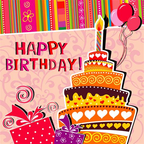 Happy Birthday Card Template Free by 40 Free Birthday Card Templates Template Lab
