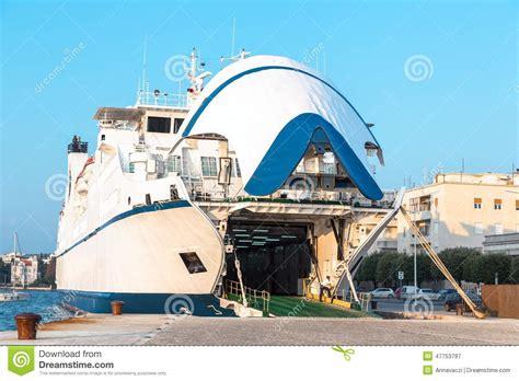 ferry boat zadar ferry boat in zadar stock photo image 47753797