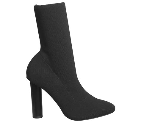 sock boots black friday office appleton high cut sock boots black knit ankle boots