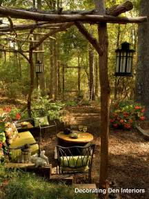 Rustic Backyard by Inspiration Tips For Decorating Outdoor Rooms