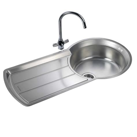 kitchen sink co rangemaster keyhole ky10001 stainless steel sink