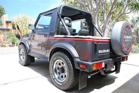 Jeep Suzuki Samurai This 87 Suzuki Samurai Is The 4x4 Collector S Jeep