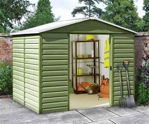 yardmaster sl shiplap metal shed  shed