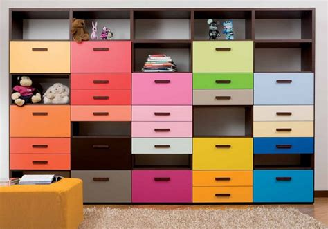 bedroom storage units bedroom storage with colour by dear kids