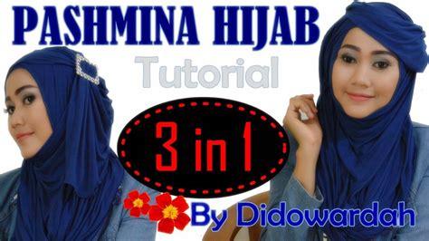 tutorial pashmina lebaran 2015 tutorial hijab simple pashmina lebaran 2015 3 in 1 hijab