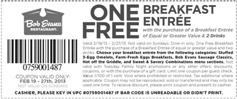 printable restaurant coupons july 2015 bob evans coupon codes release date price and specs
