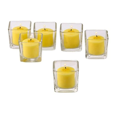 werkstatt yildirim bochum square glass candle holders new yankee candle square