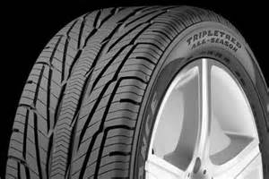 Car Tires Reviews All Season Goodyear 174 Assurance Tripletred All Season Tires All