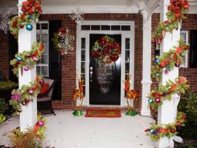 decoration for christmas awesome enrtry way with front porch christmas decorations