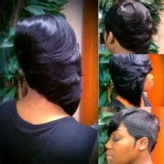 marvin hayes two toned bobs short hair raxorcut bangs layers quickweaves pinterest