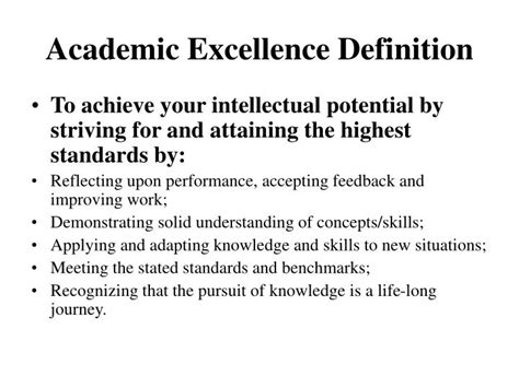 authorized biography definition ppt academic excellence definition powerpoint