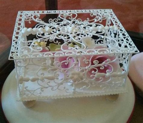 Filgree Royal Icing Tree Made How To Make Lace With Royal Icing Cookies