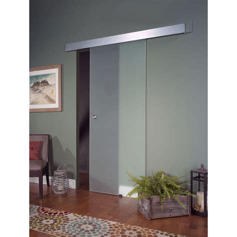 Opaque Glass Barn Door 32x80 Ebay Glass Barn Door