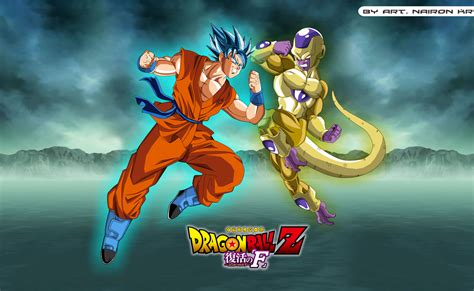 dragon ball z resurrection wallpaper goku vs freeza 8k ultra hd wallpaper and background