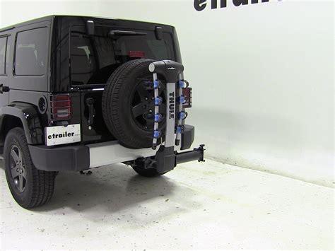 Jeep Hitch Rack 2015 Jeep Wrangler Thule Apex Swing 4 Bike Rack For 2