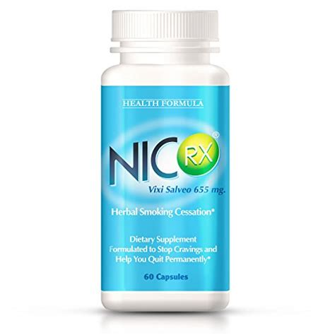 Quit Detox Vitamins by Nicrx Anti Pills With Lobelia To Help