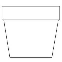 flower pot coloring page flower pot coloring page flower coloring page